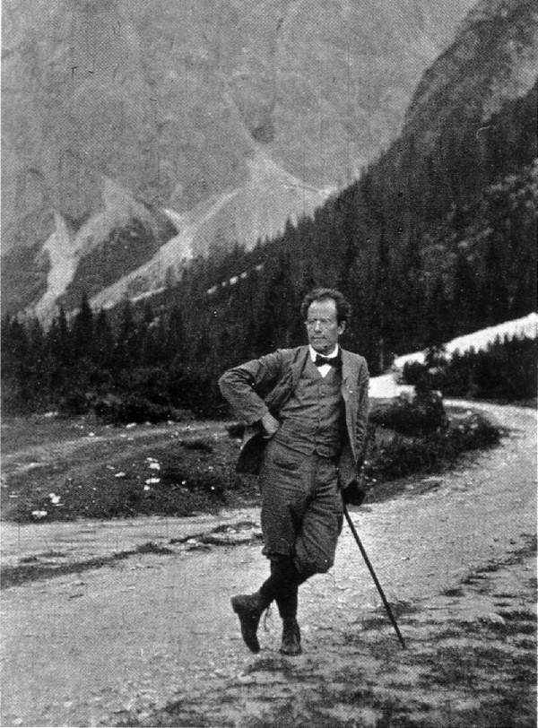 Gustav Mahler dans la montagne