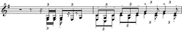 Fanfare motif mahler