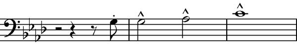 Liszts cross motif sheet music