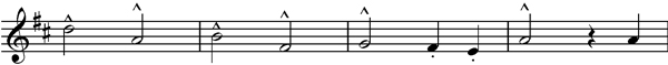 Choral theme final movement