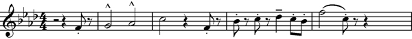 F minor theme