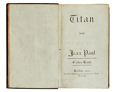 Jean Paul Titan Book