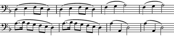 Bruder Martin Frere Jacques Motif Symphony