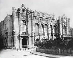 Vigado Concert Music Hall Budapest